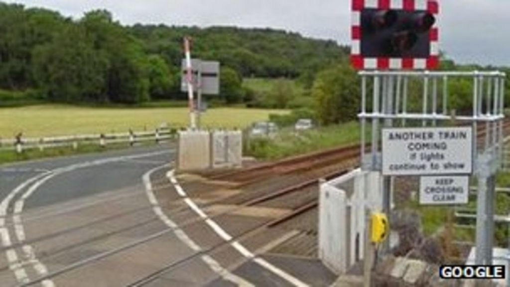 The level crossing in Silverdale