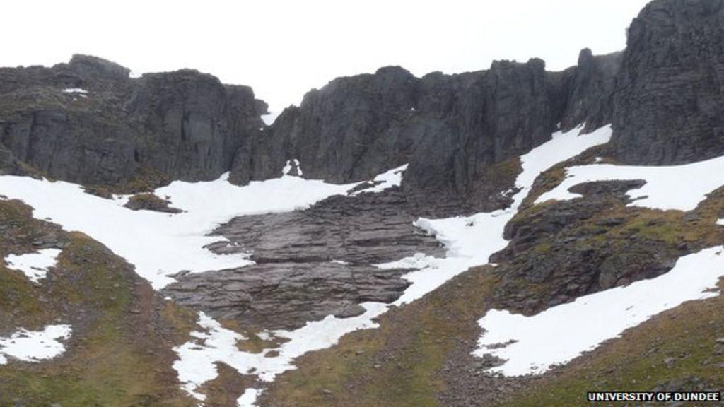 scotland had a glacier up to 1700s  say scientists