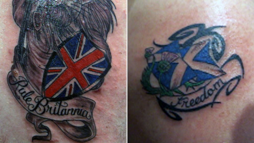 Scottish Independence Do Tattoos Help Shape What We Believe In