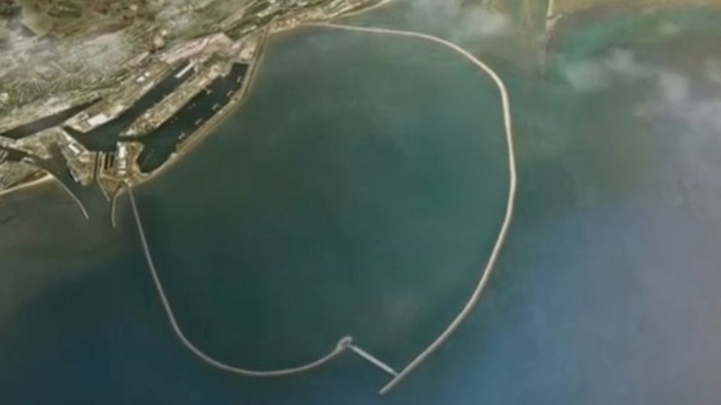 Swansea Bay  U00a3850m Tidal Lagoon Plan Submitted