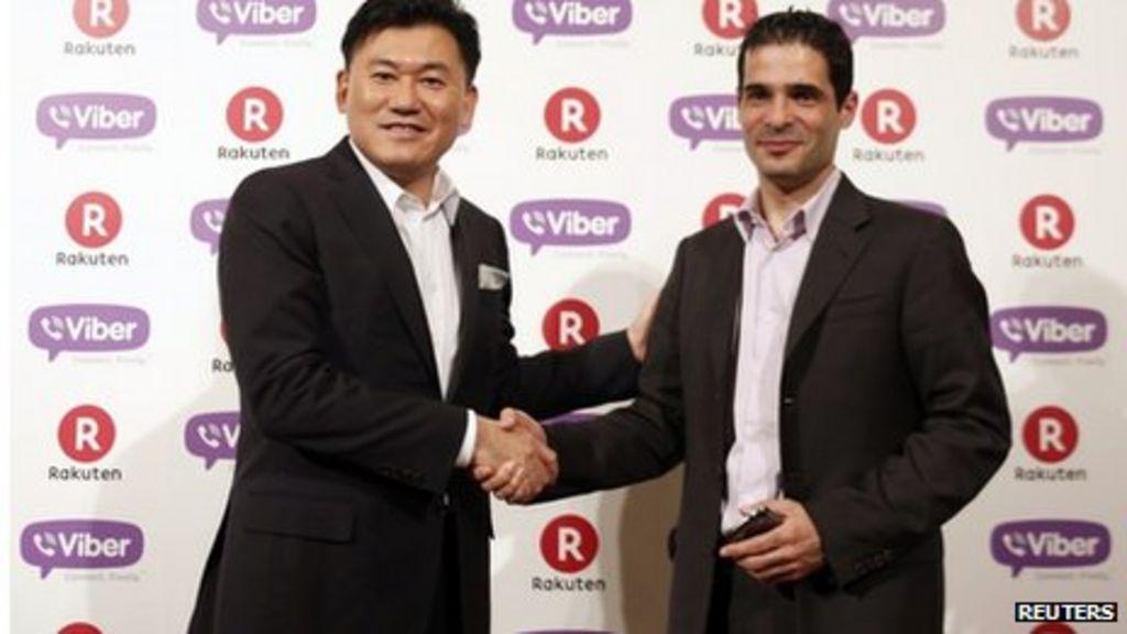 Viber messaging app bought by Japan's Rakuten - BBC News
