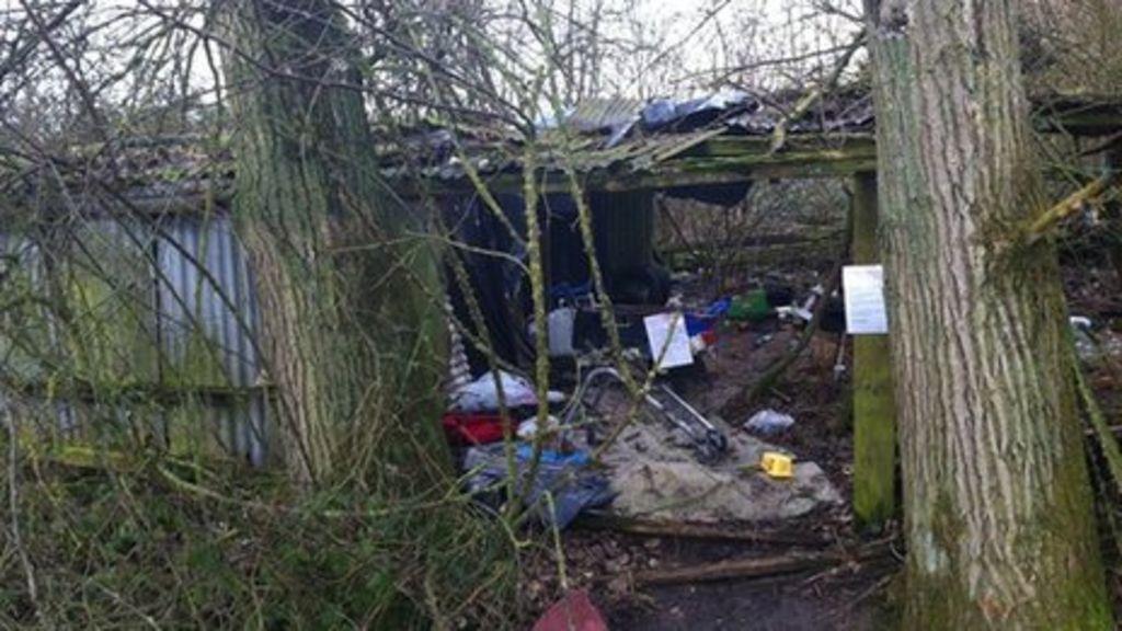 Pigsty 'shelter' to be demolished