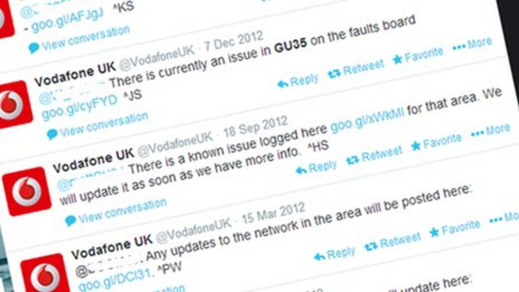 Vodafone Bordon customers angry over two-year signal