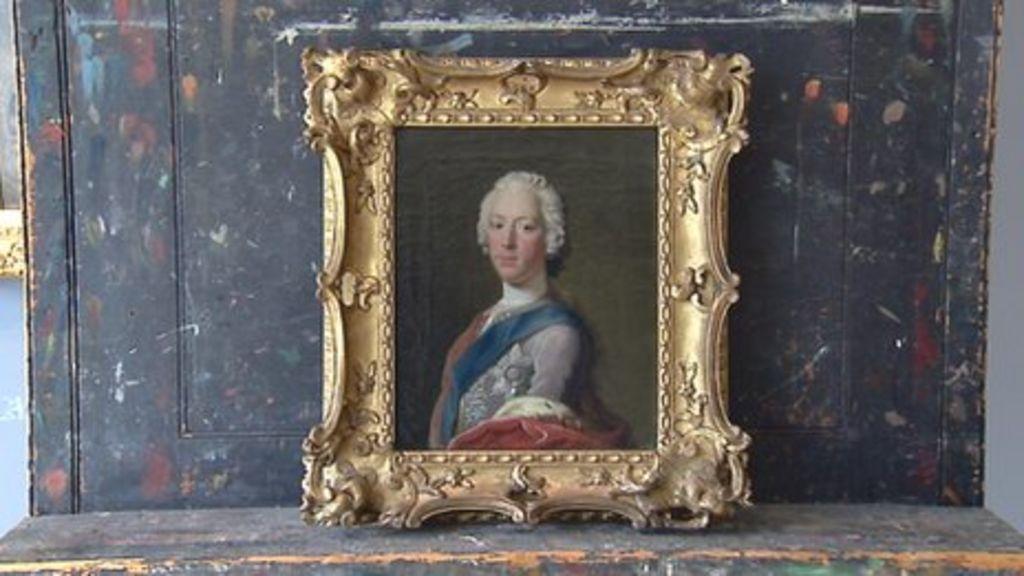 lost bonnie prince charlie portrait found in scotland