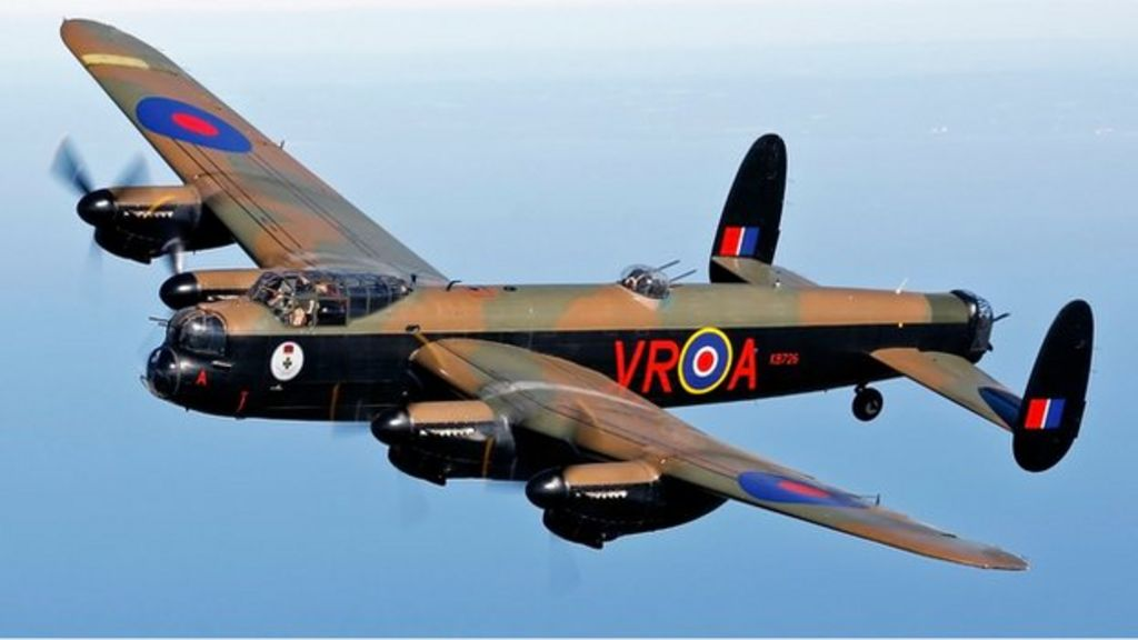 uk bound lancaster vera takes off from canada bbc news