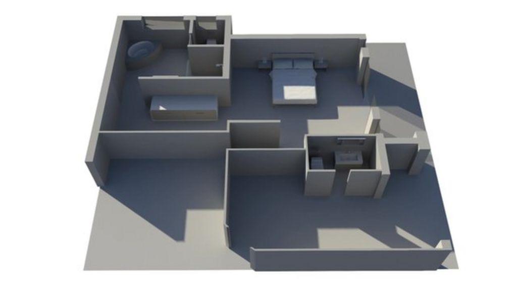 Oscar pistorius bathroom layout