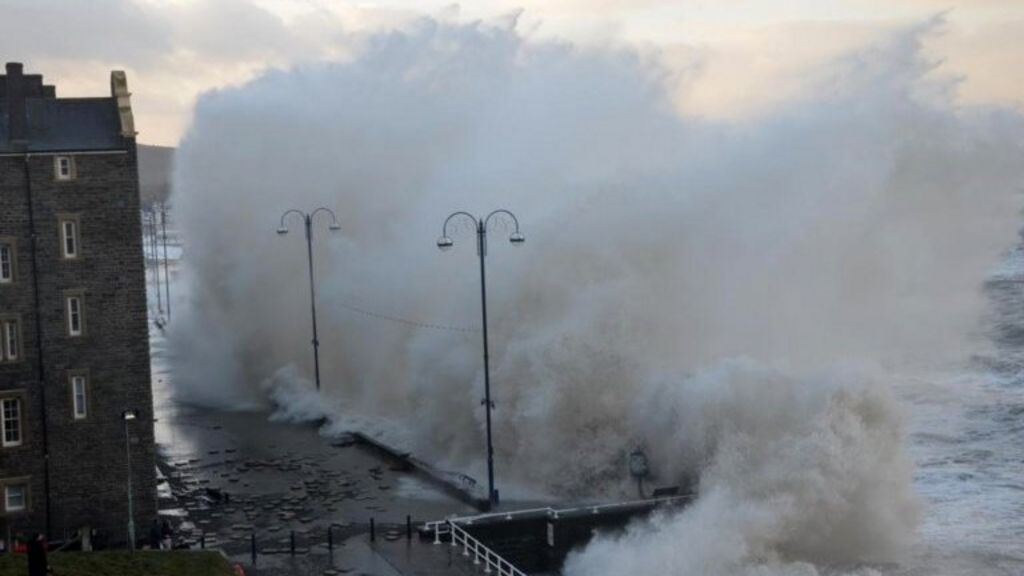 Aberystwyth's storm-hit prom to be repaired before Easter ...