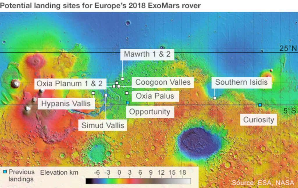 mars rover landing map - photo #15