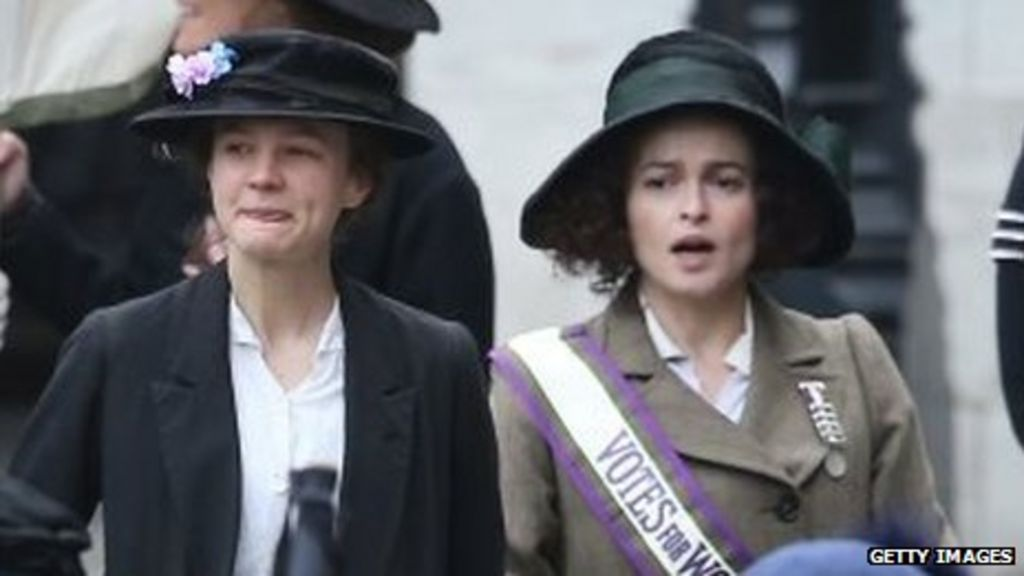 Suffragette film sees Parliament used as set for first time - BBC News