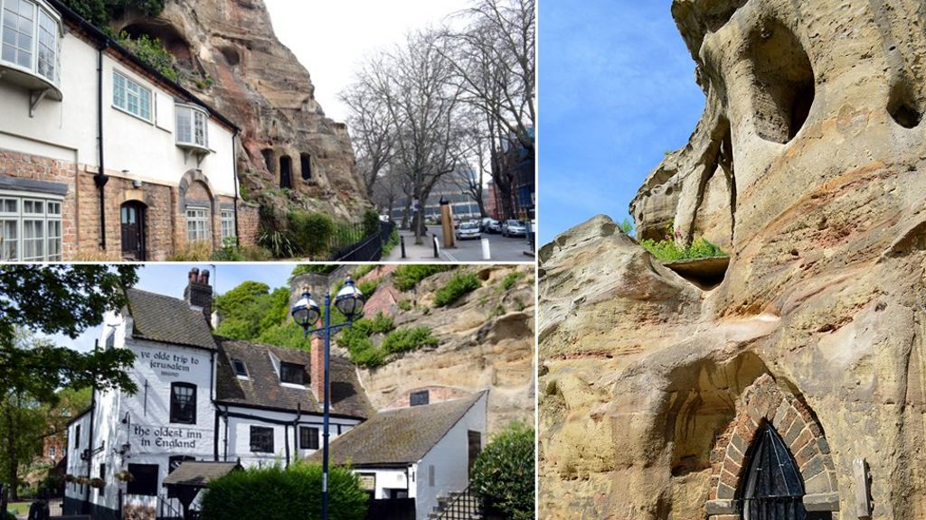 Nottingham: The city where they keep finding caves - BBC News