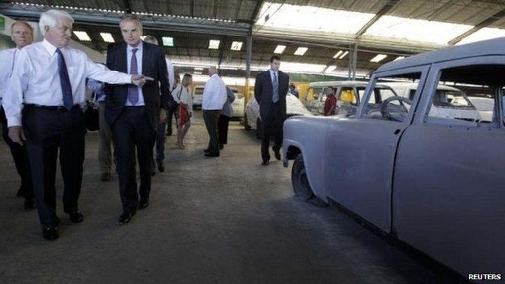 American trade delegation in rare Cuba visit - BBC News
