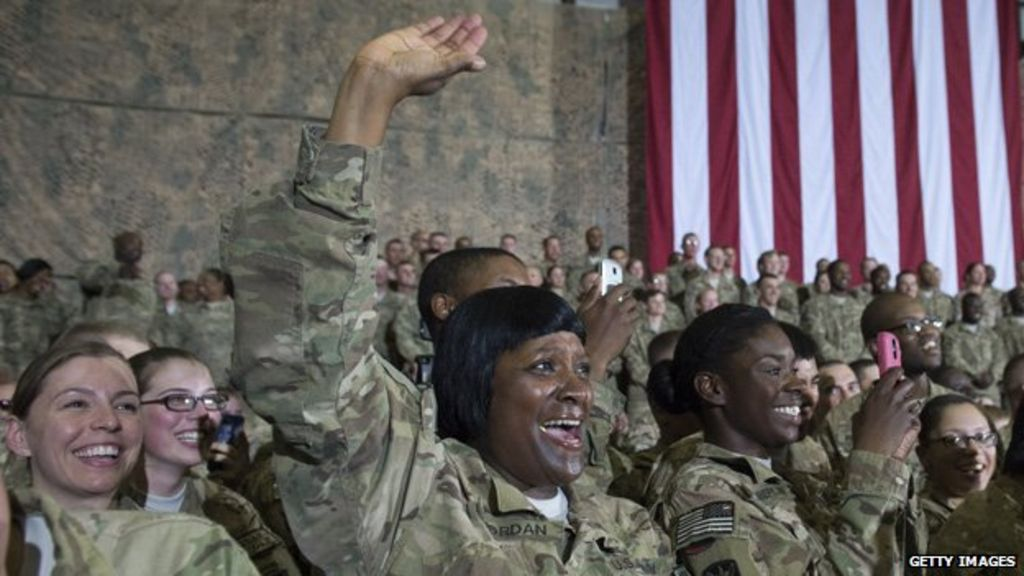 Natural hair advocates take on the US Army - BBC News