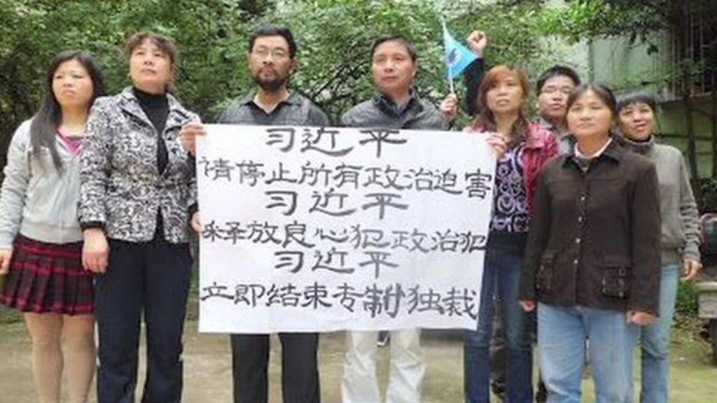 China jails corruption activists
