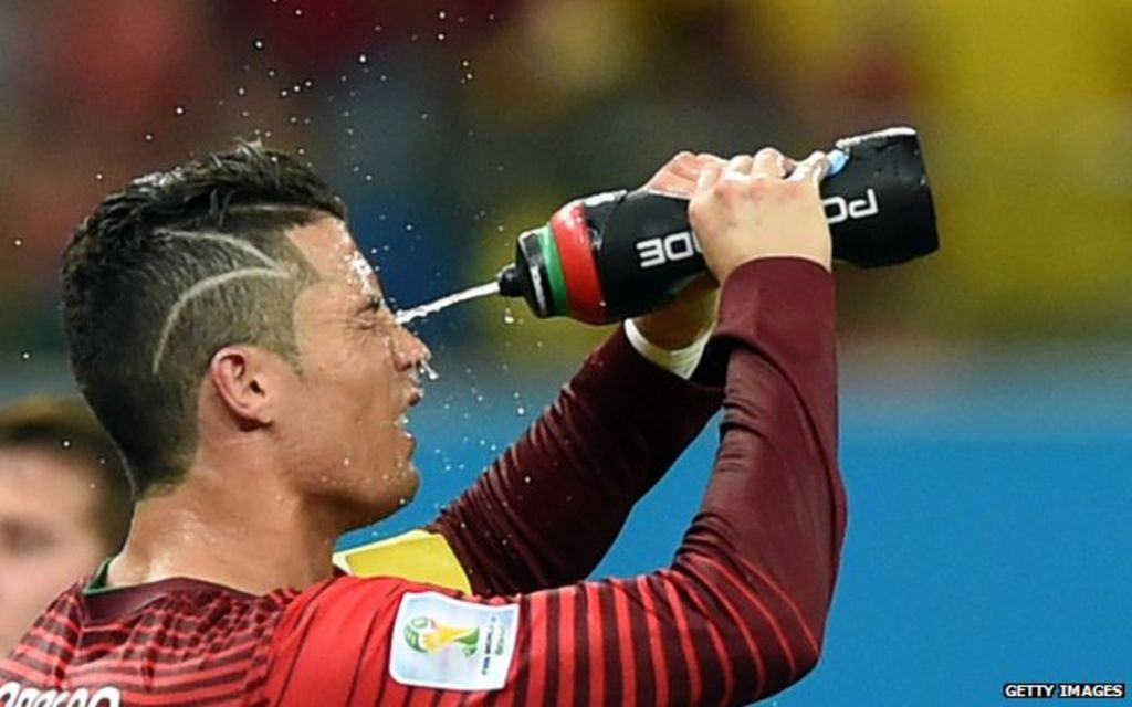 Bbctrending Why Does Cristiano Ronaldo Have Zigzag Hair Bbc News