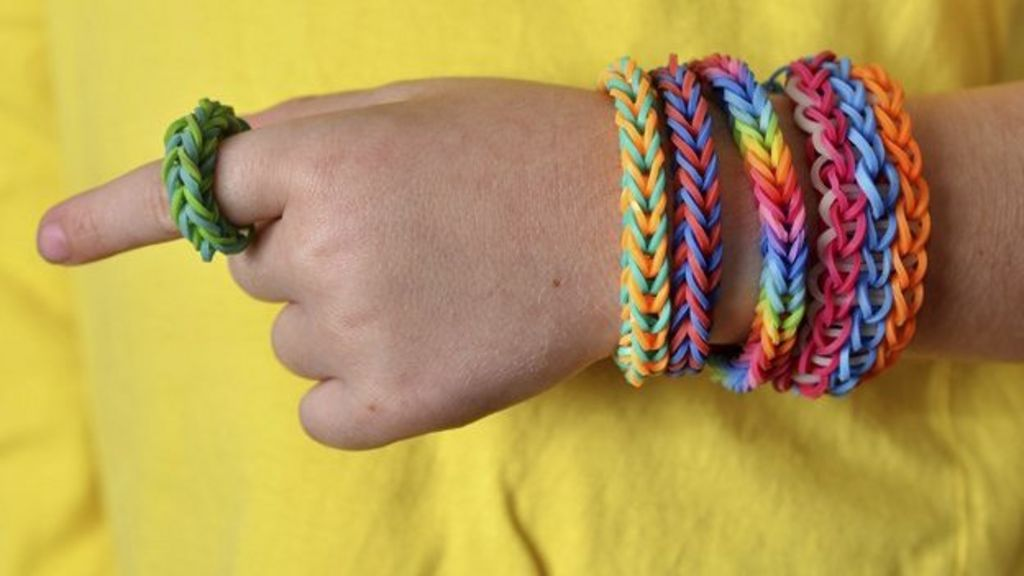A craze for 'loom bands'
