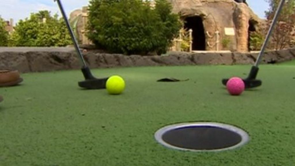 how to build a real golf green