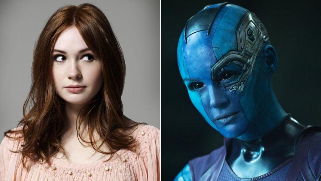 Gillans villain: Scots actress as Guardians Nebula - BBC