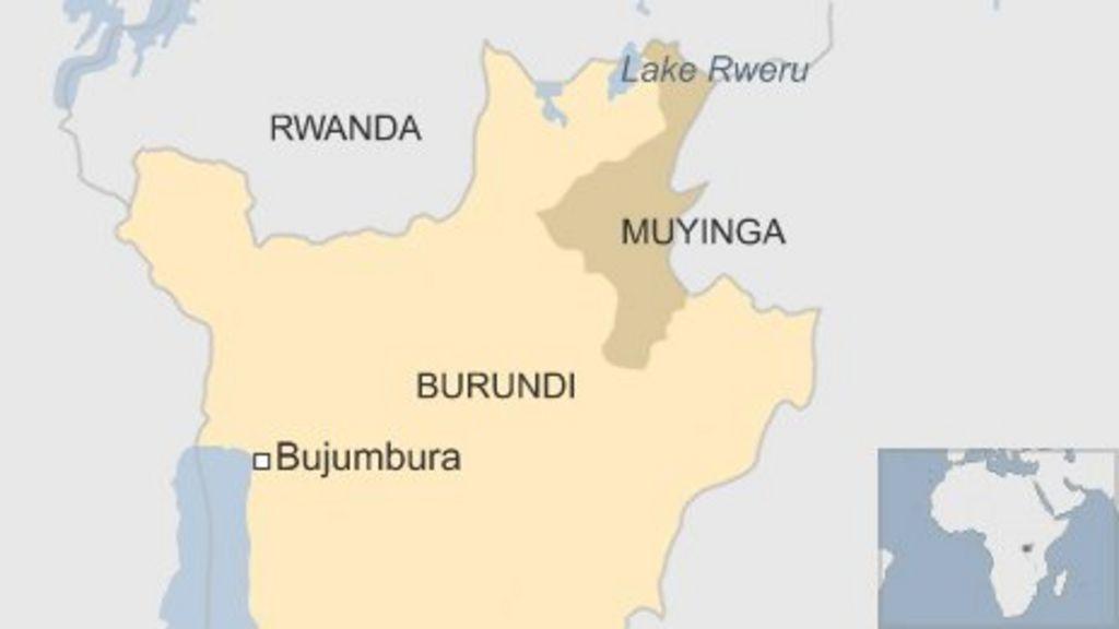 Burundi Investigates Rwandan Bodies In Lake Rweru BBC News - Where is burundi on a world map