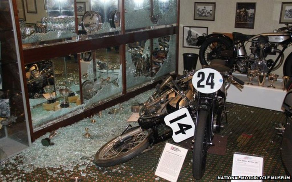 National Motorcycle Museum >> National Motorcycle Museum Hit By Theft Of 100 Trophies Bbc News