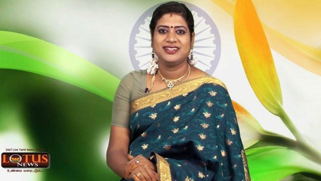 Padmini Prakash: India's first transgender news anchor - BBC