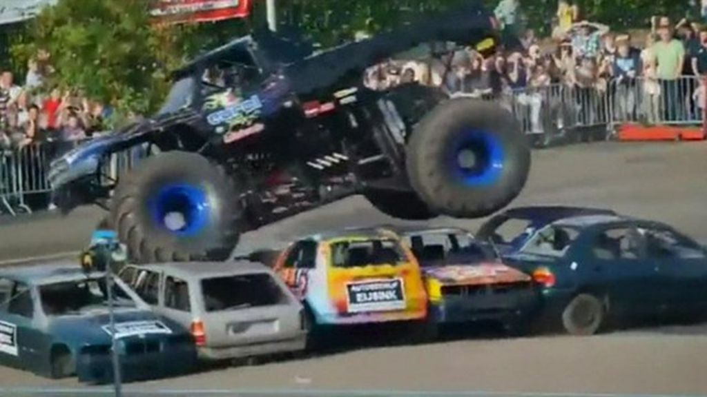 Netherlands Monster Truck Crash Kills Three At Show Bbc News