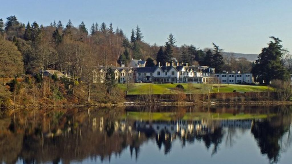 pitlochry 39 s green park hotel named best in scotland bbc news. Black Bedroom Furniture Sets. Home Design Ideas
