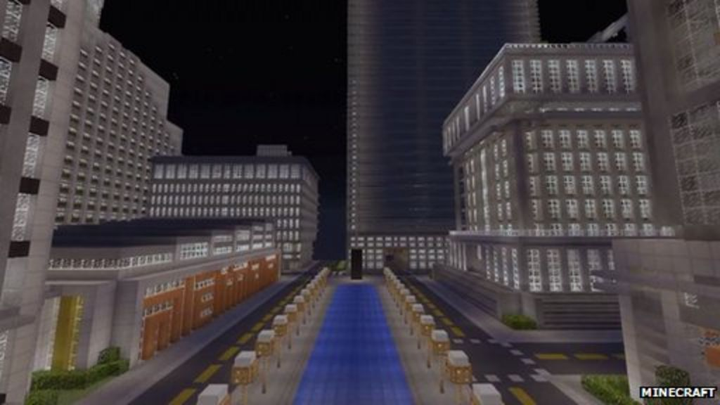 Minecraft player spends two years building virtual city for Virtual build a house