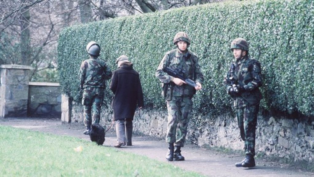 ea0e9881e2 Number of soldiers in Northern Ireland lowest since 1969 - BBC News