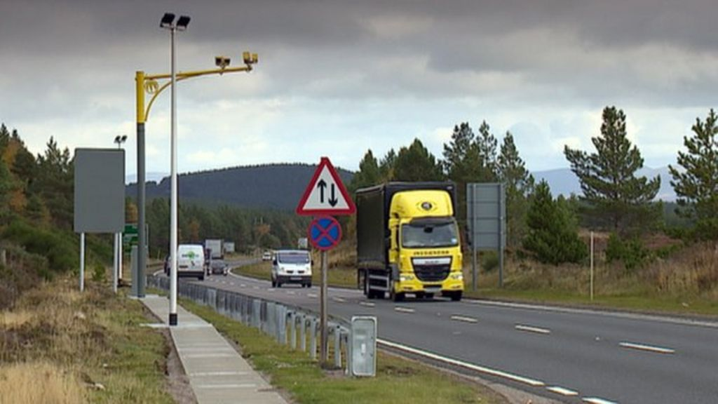 Cameras have been installed at 27 sites along the route
