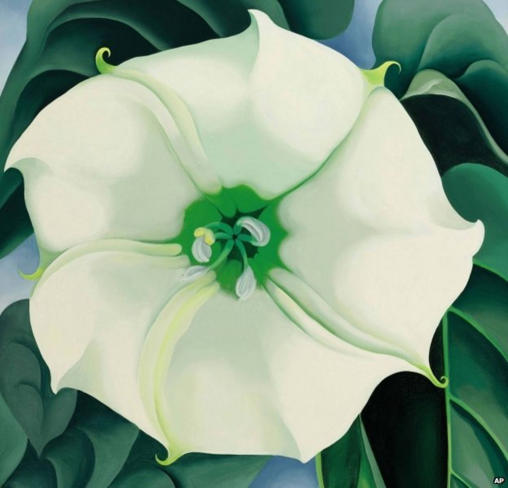 Georgia Okeeffe Painting Sets Auction Record For Female Artist