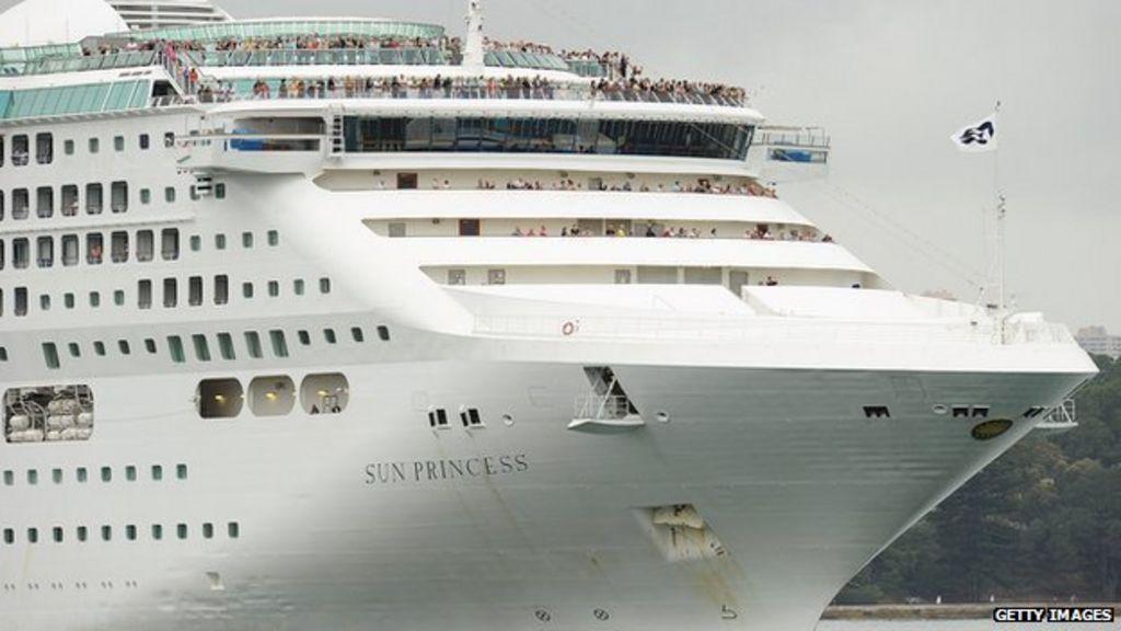 Australia Cruise Ship Passenger Missing Off Sydney - BBC News
