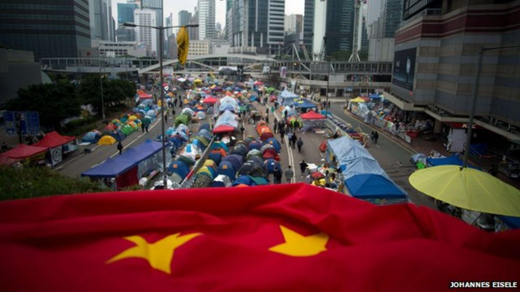 a communist chinas attempt of the take over of hong kong