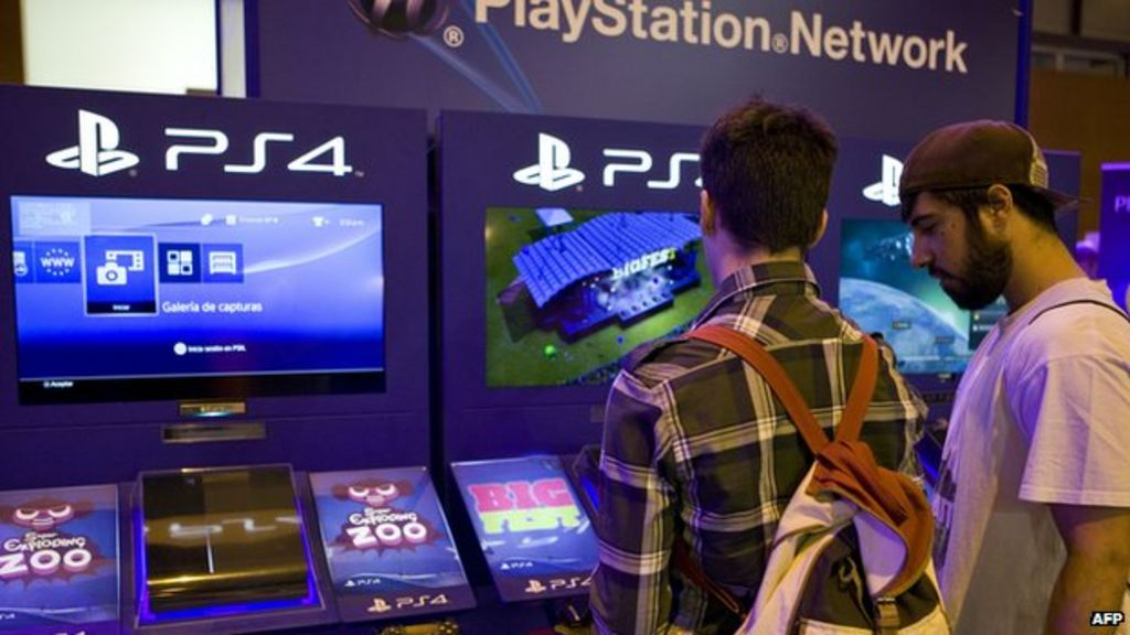 Sony's PlayStation hit by hack attack - BBC News