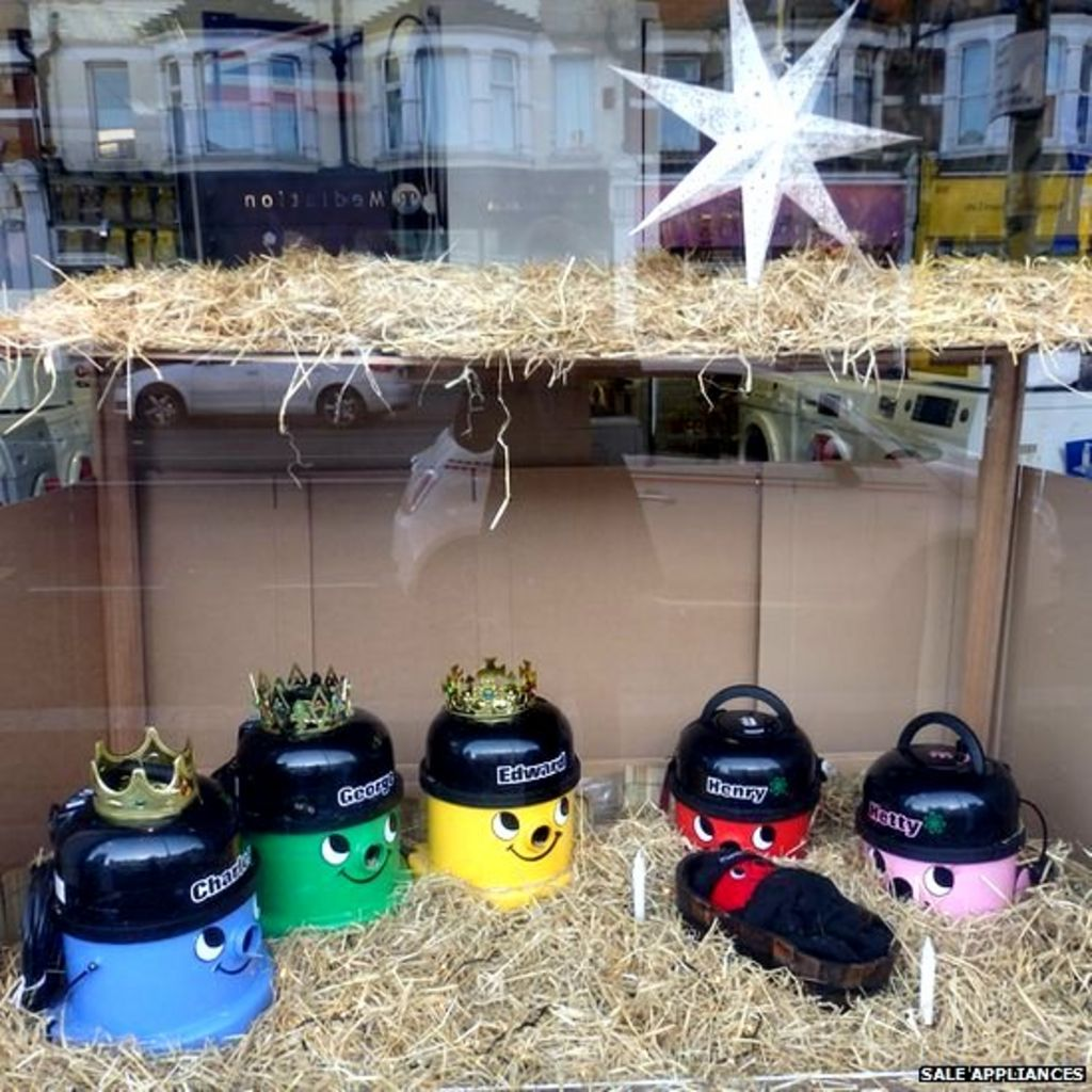 Christmas Henry Vacuum Cleaner Nativity Made In Westcliff