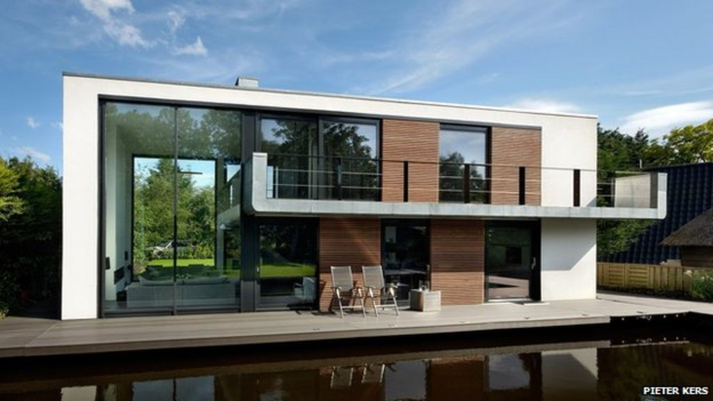 Building Affordable Homes On Water Bbc News