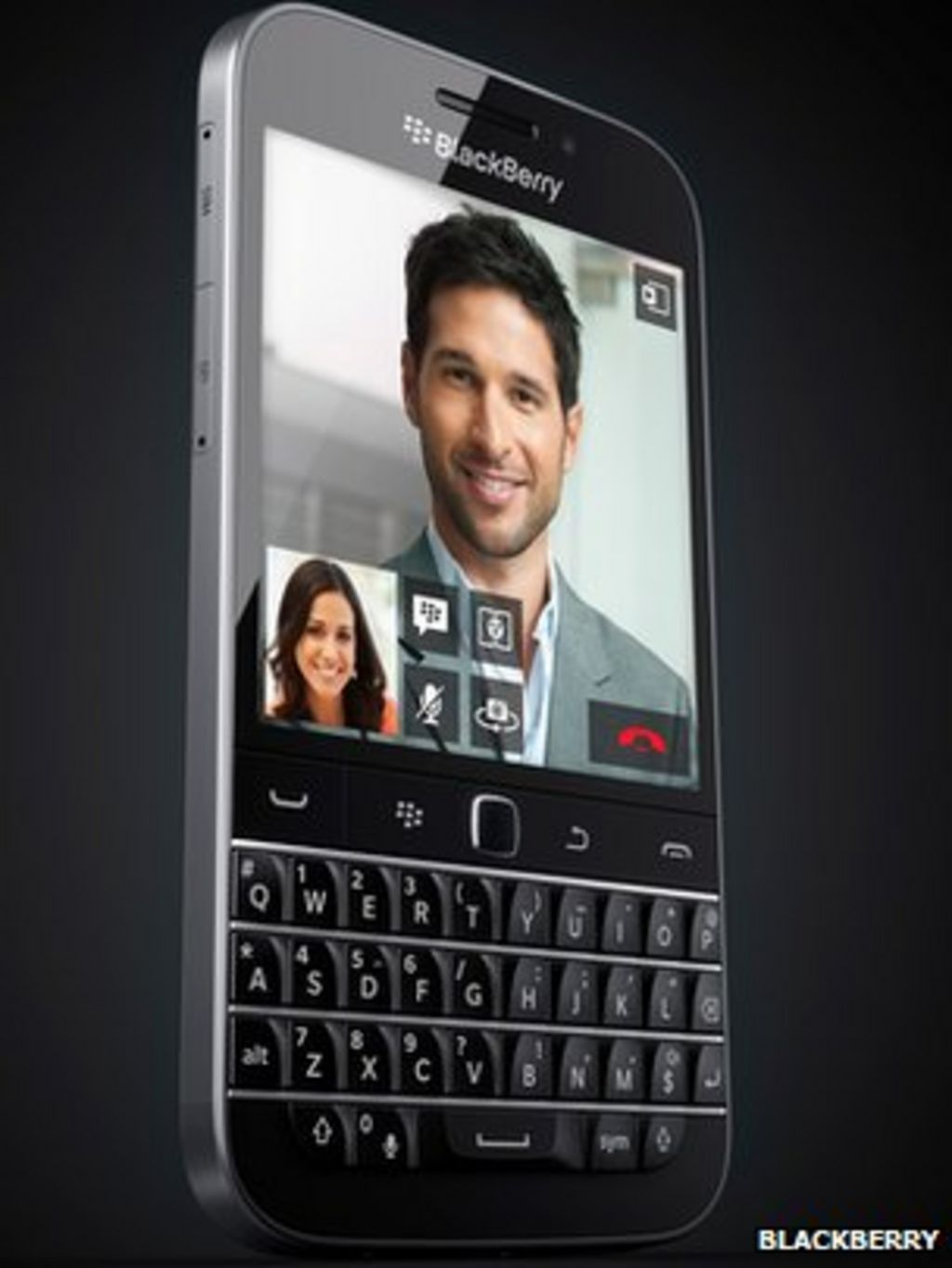 Blackberry Classic Goes Back To Companys Roots Bbc News