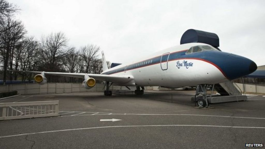 Elvis Presley's private jets up for sale - BBC News
