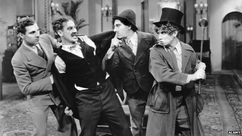 How The Marx Brothers Hold Their Appeal And Influence Bbc News