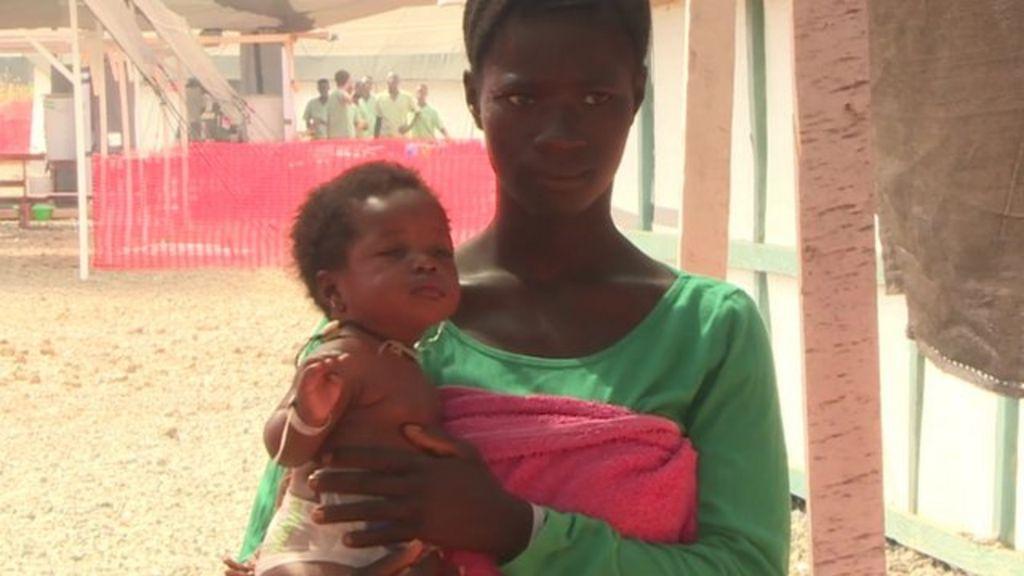 Ebola care centre for pregnant women