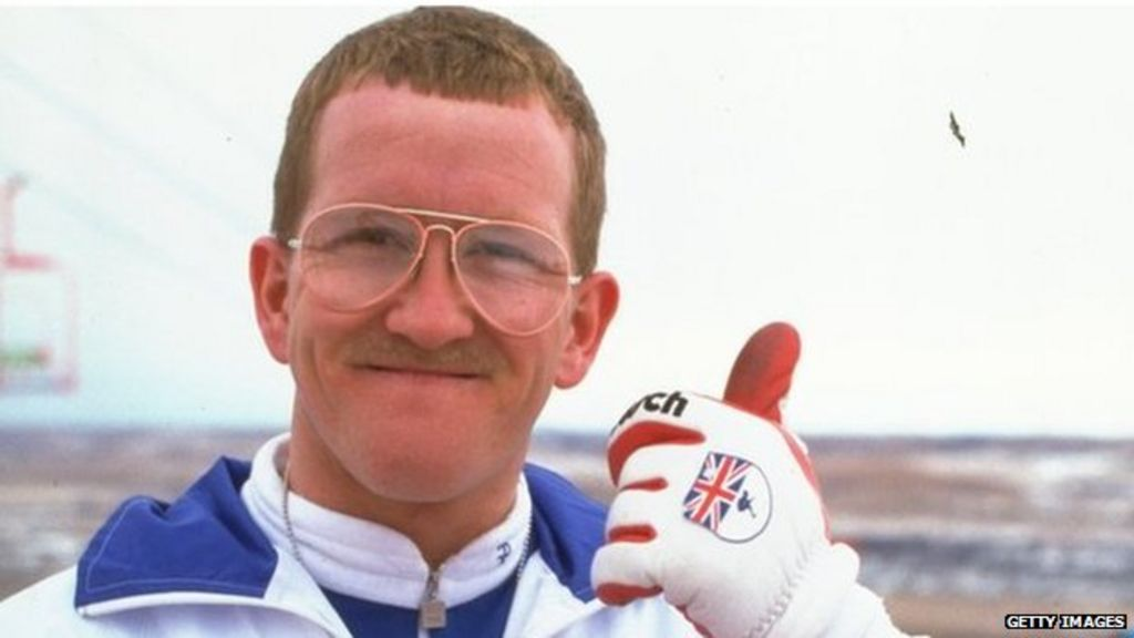 2829609863 Eddie  the Eagle  Edwards offers to ski jump for biopic - BBC News