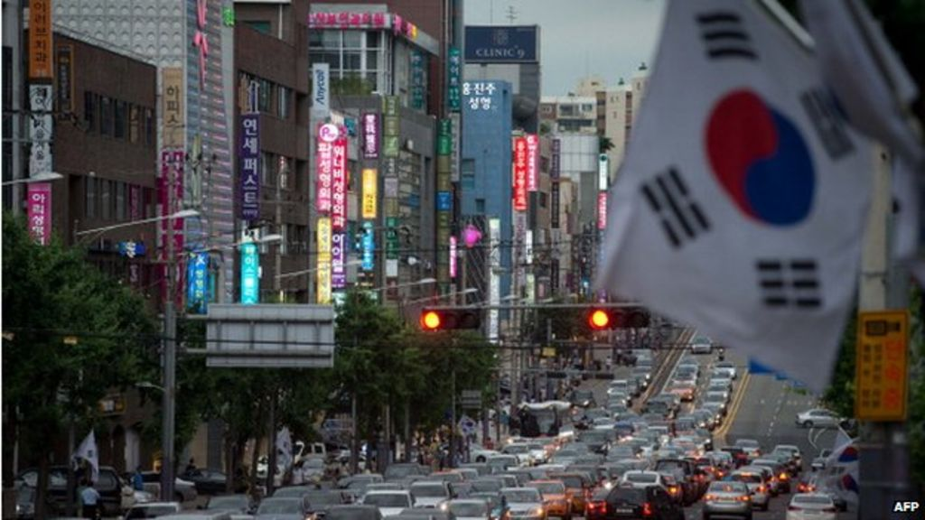 South Korea growth hits six year low in fourth quarter ...
