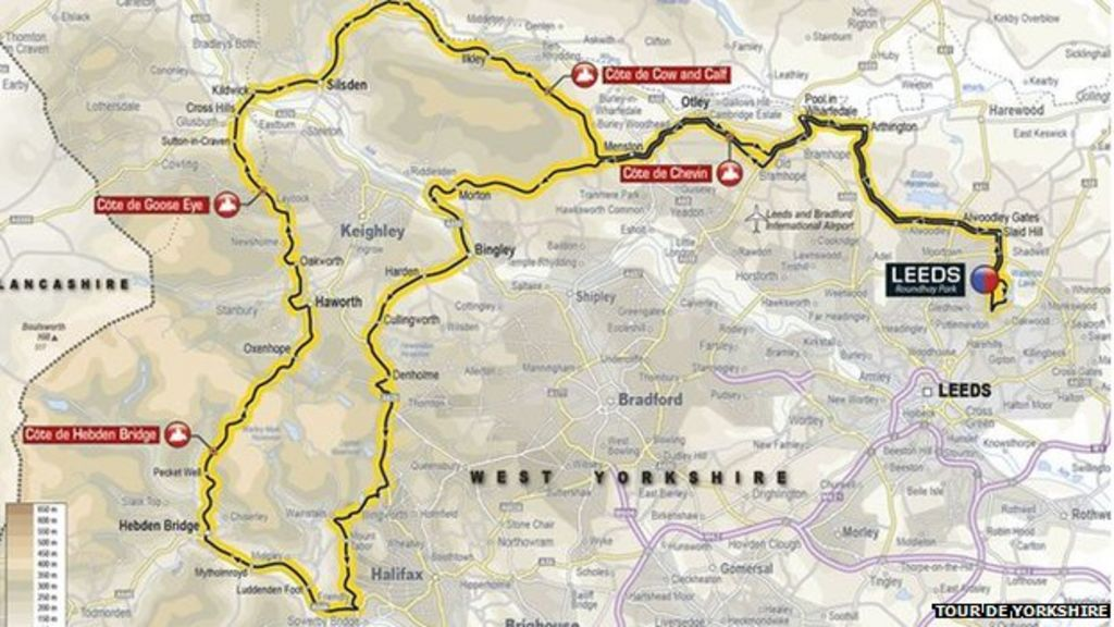Tour de Yorkshire 'sportive' cycling routes announced ...