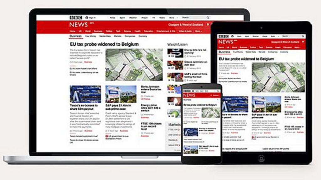 Bbc News Update: Update On New BBC News Responsive Site