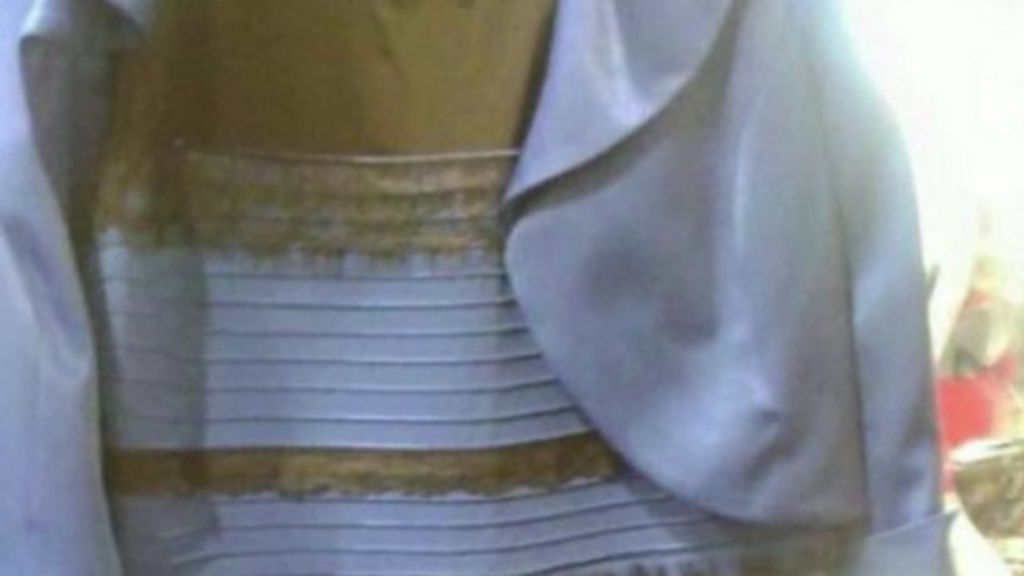 Optical Illusion Dress Colour Debate Goes Global Bbc News