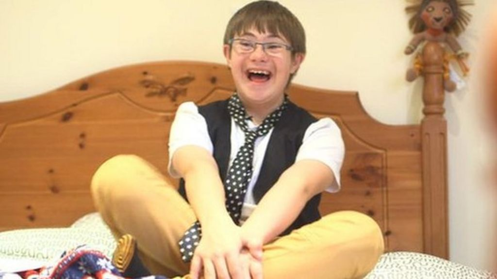Children's star with Down's syndrome returns to screens
