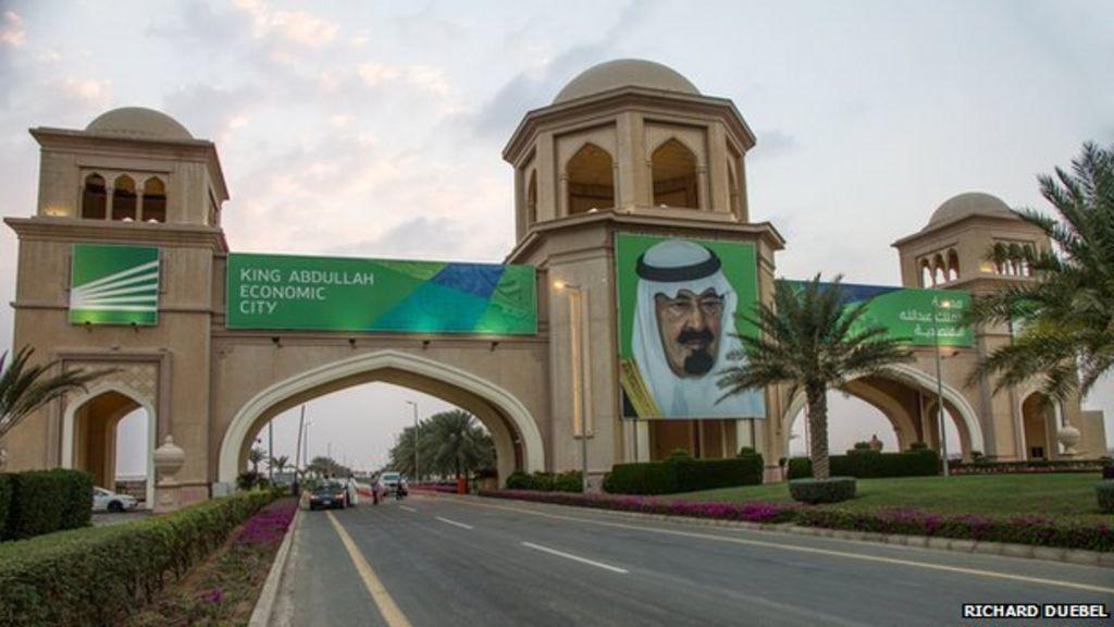 Saudi Arabia's new desert megacity - BBC News