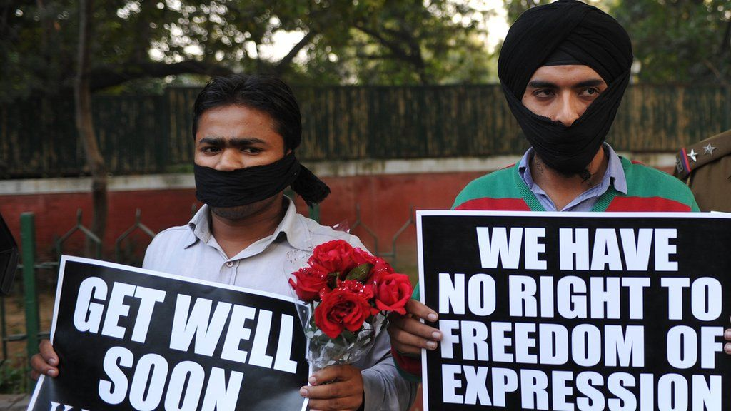 India's section 66A scrapped: Win for free speech - BBC News