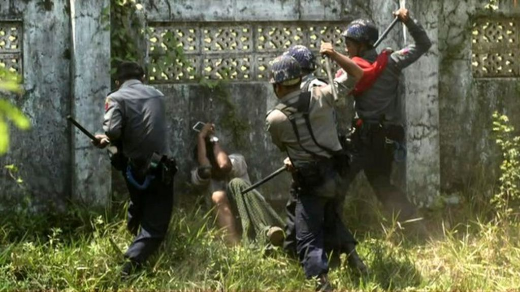 Myanmar students and activists charged over protest clashes bbc news altavistaventures Gallery