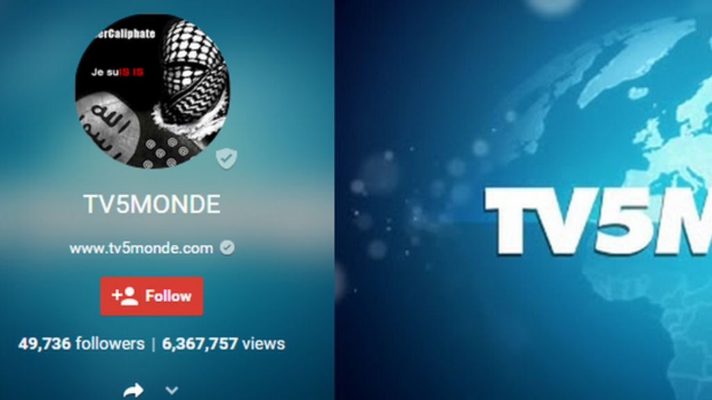 TV5 Monde attack 'by Russia-based hackers'