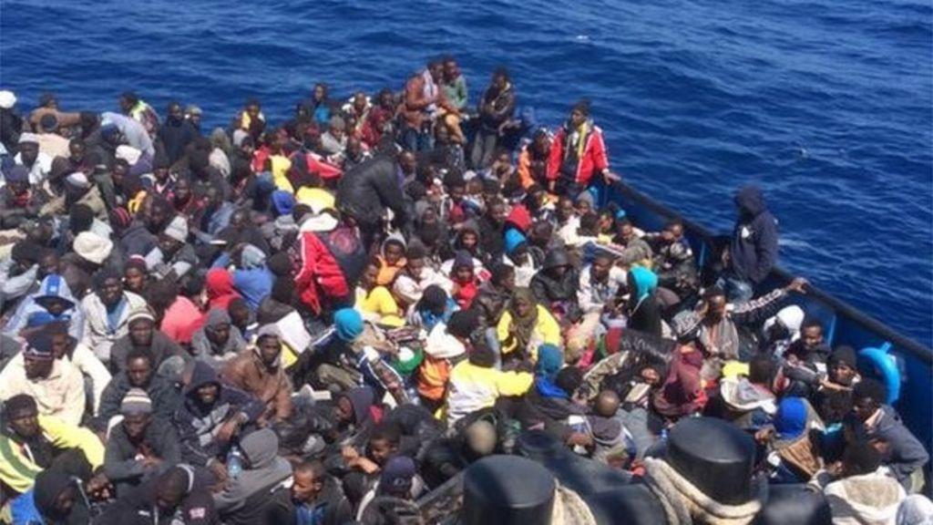 migrants killed in 39 religious clash 39 on mediterranean boat bbc news. Black Bedroom Furniture Sets. Home Design Ideas